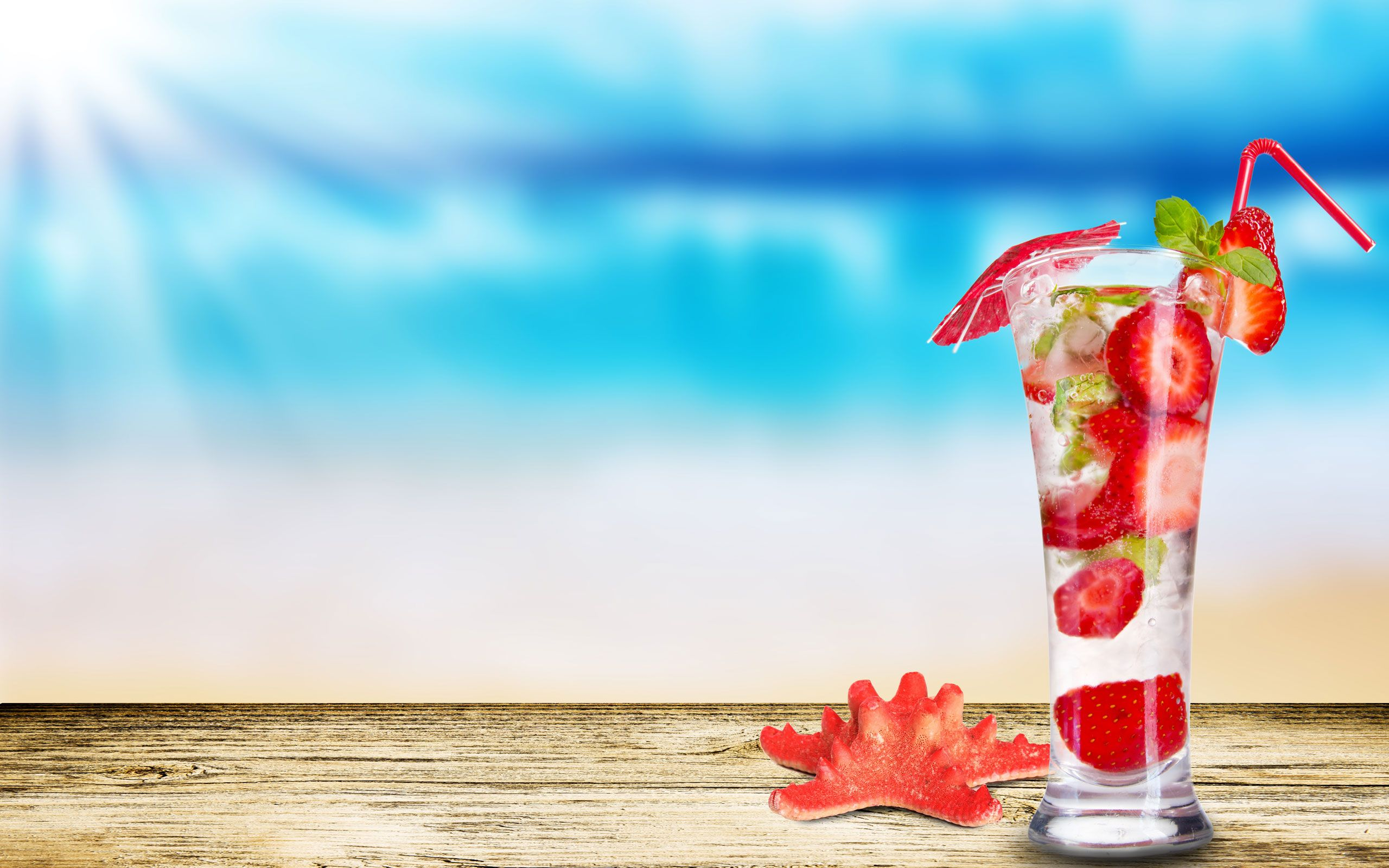 Strawberry Mojito HD Widescreen Desktop Wallpaper  Places to Visit  Pintere...