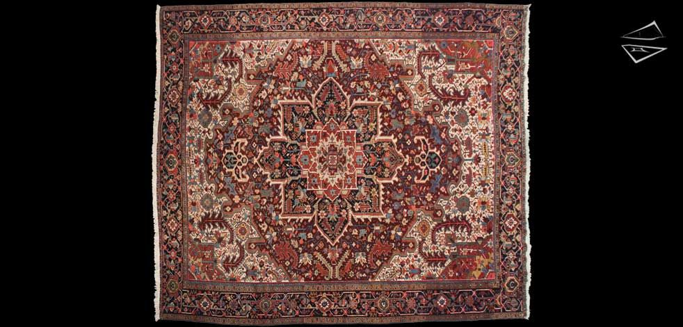 12 14 Persian Mehrivan Square Rug Square Rugs Rugs Rugs On Carpet