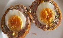 How to cook the perfect scotch egg #scotcheggs The Ship recipe scotch egg. Photograph: Felicity Cloake #scotcheggs How to cook the perfect scotch egg #scotcheggs The Ship recipe scotch egg. Photograph: Felicity Cloake #scotcheggs