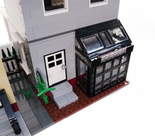 2 City Residential Houses #2 - Modular Building: A LEGO® creation by Brian Lyles : MOCpages.com