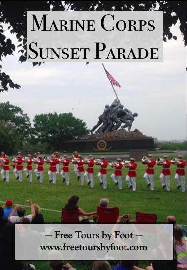 The 2019 Dates and Location for the Marine Corps Sunset