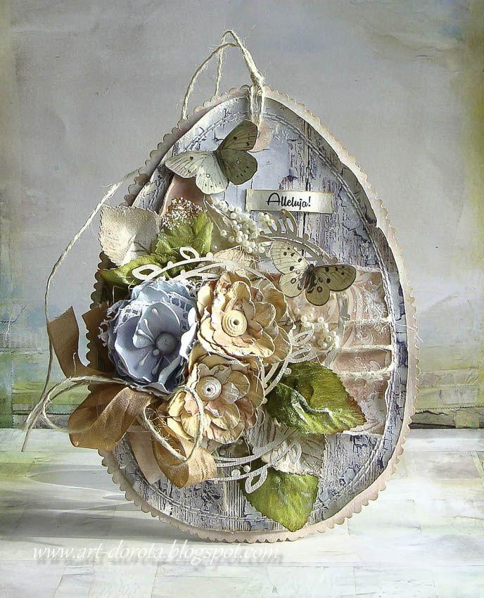 Dorota Mk Na Dobry Poczatek Dnia Easter Paper Crafts Easter Tree Ornaments Easter Crafts Diy