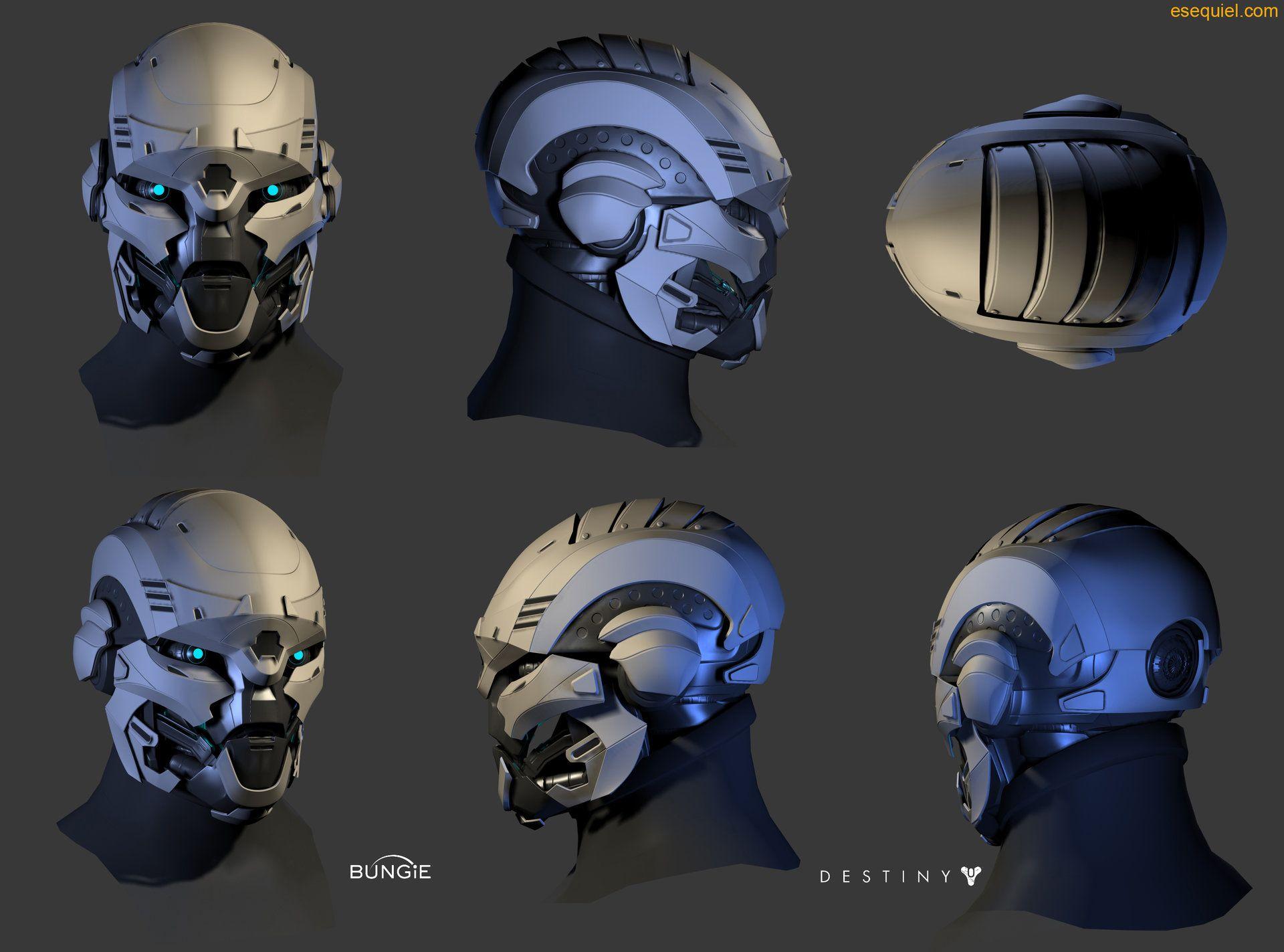 artstation exo heads zeke garcia destiny pinterest exo sci fi and robot. Black Bedroom Furniture Sets. Home Design Ideas