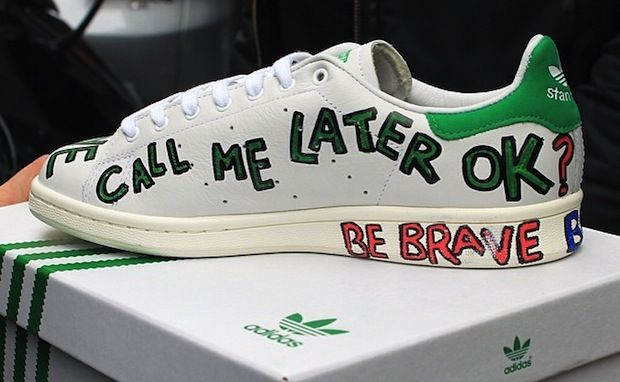 Pharrell's Customized 10 Pair of The Stan Smiths for Colette