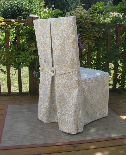 parsons chair slipcover by via flickr