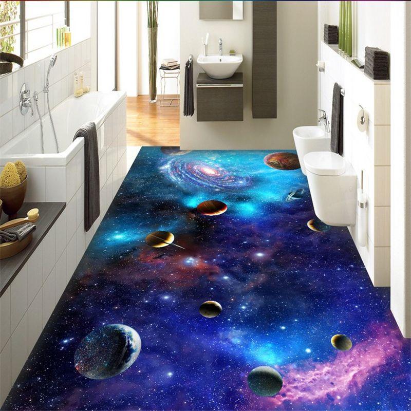 beibehang cosmic galaxy sterne boden tapete f r wohnzimmer benutzerdefinierte foto mural. Black Bedroom Furniture Sets. Home Design Ideas