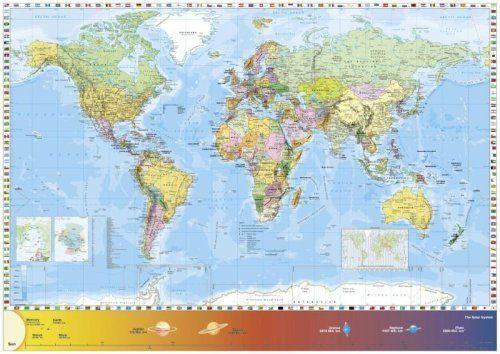 Schmidt world map jigsaw 1500 pieces by schmidt puzzles fun schmidt world map jigsaw 1500 pieces by schmidt puzzles gumiabroncs Choice Image