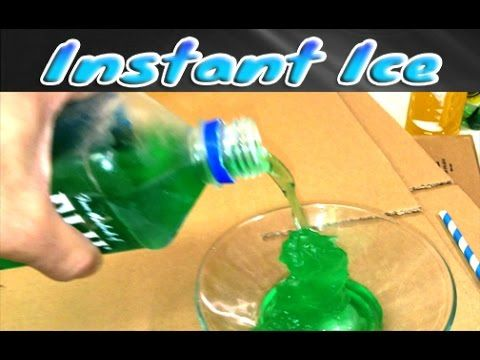 Instant Ice Challenge Science Trick | Sciency-Wiency | Science