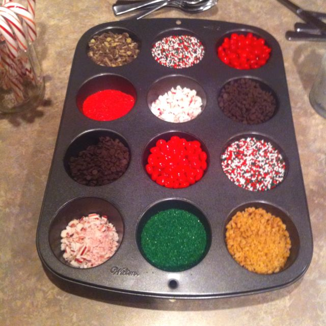 Pinterest Christmas Party Ideas Part - 36: Christmas Sugar Cookie Decorating Station! ***One For Each Table***