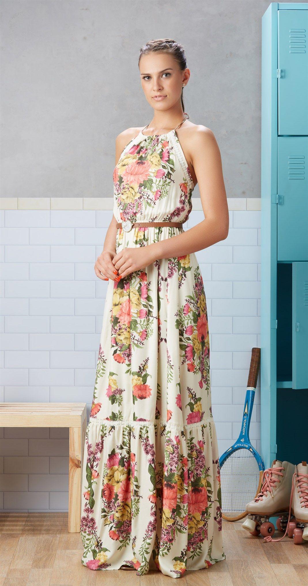 Só na Antix Store você encontra Vestido Longo Bouquet com exclusividade na  internet f583e0eb71