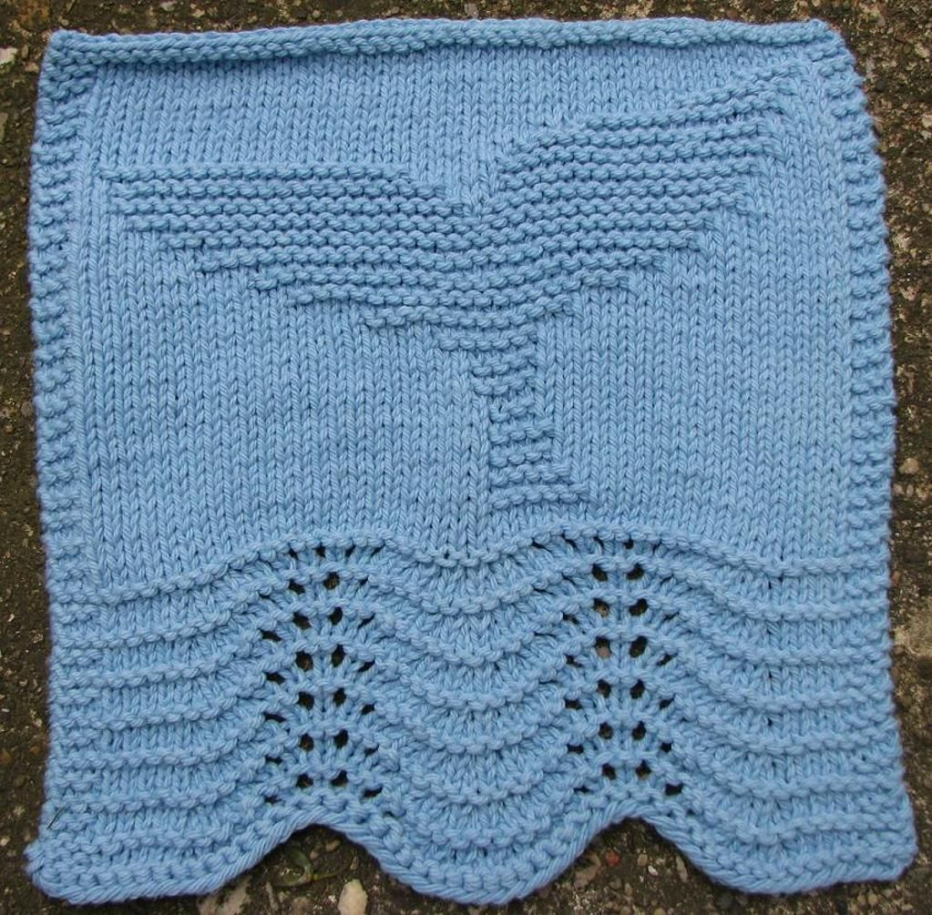 Free Knitting Patterns whale dishcloth | Knitting Pattern For ...
