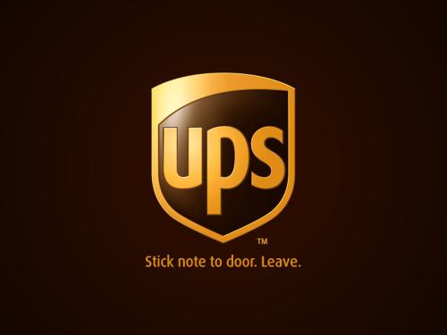 Honest brand slogan for UPS   Honest Brand Slogans   3d