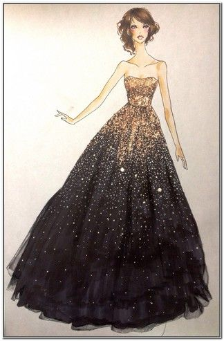 Homecoming dresses pencil drawing google search