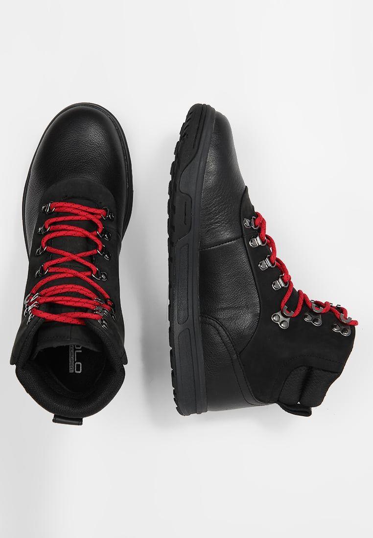 Polo Ralph Lauren Alpine Tenisowki I Trampki Wysokie Black Charcoal Za 671 2 Zl 20 01 18 Zamow Bezplatnie Na Zalando Boots Hiking Boots Polo Ralph Lauren