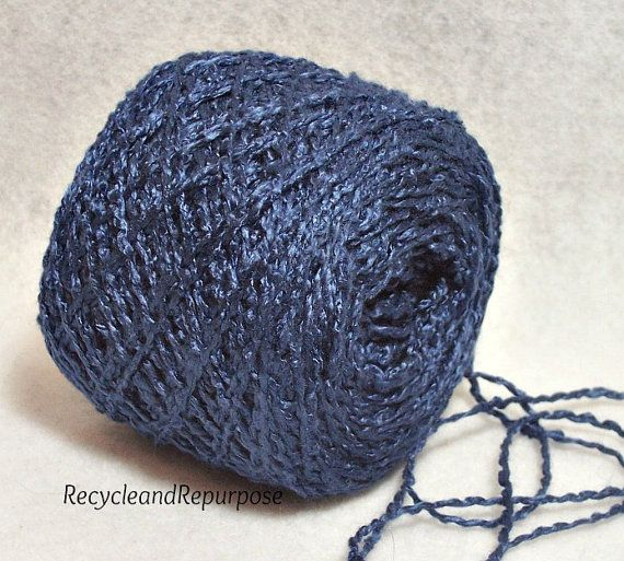 Nautical Blue Gorgeous Color Soft Rayon by RecycleandRepurpose