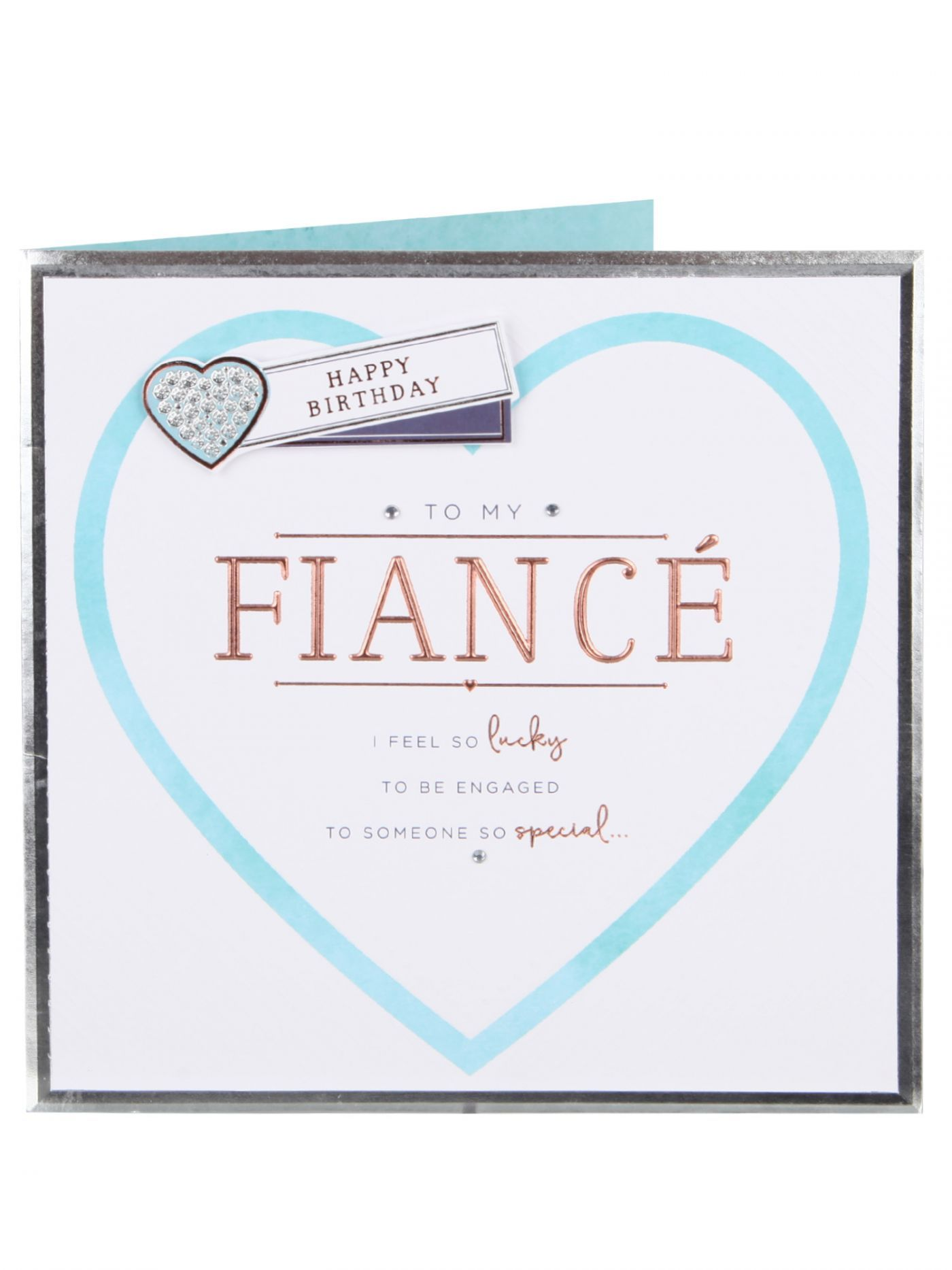 My Special Fiance Birthday Card Birthday Cards Cards – Birthday Cards Clintons