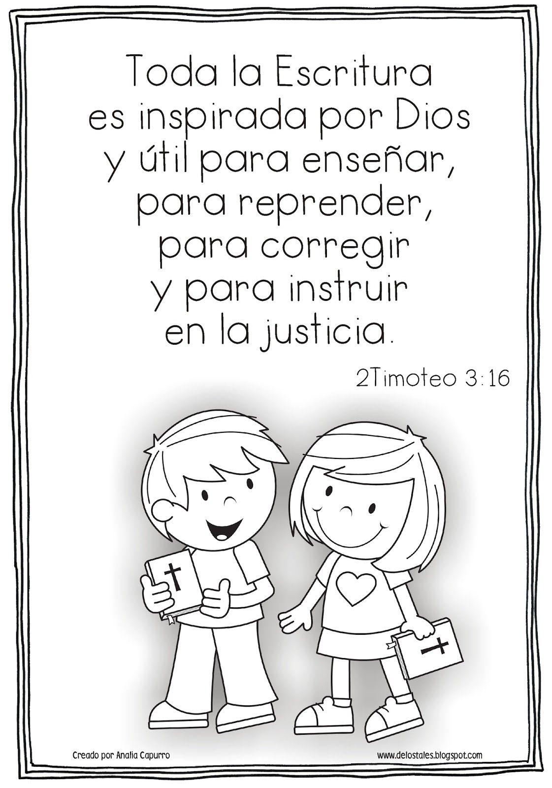 Coloring pages bible verses - Recursos De Educaci N Cristiana Para Ni Os Lecciones Visuales Juegos Devocionales Y M S