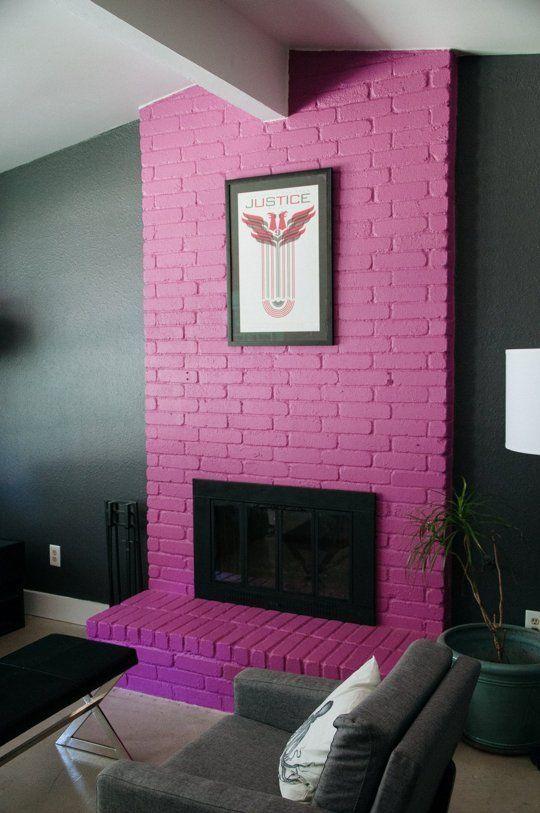 Bold Brick Wall Decor Ideas | Pinterest | Brick wall decor, Detail ...