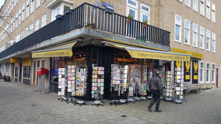 A livraria onde o pai Otto comprou o diário para a filha... Anne Frank, em Amesterdão   Viaje Comigo