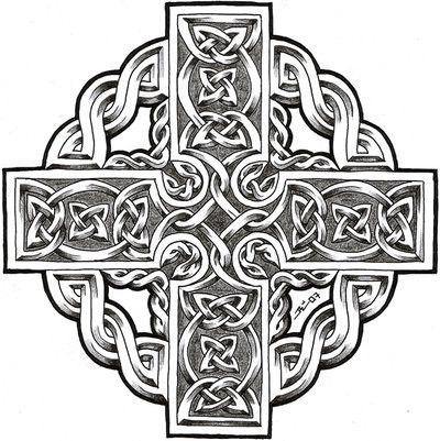 Dessin Tatouage Croix Celtique Tatouages Celtic Celtic Designs