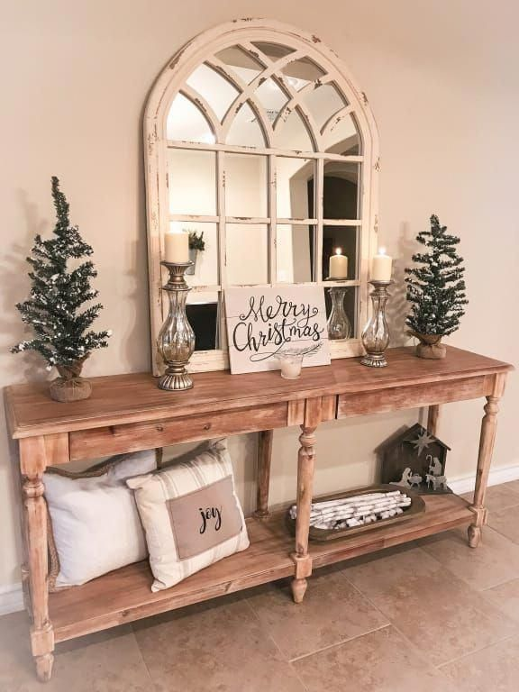Everett Foyer Table Home Decor Farm House Living Room Decor