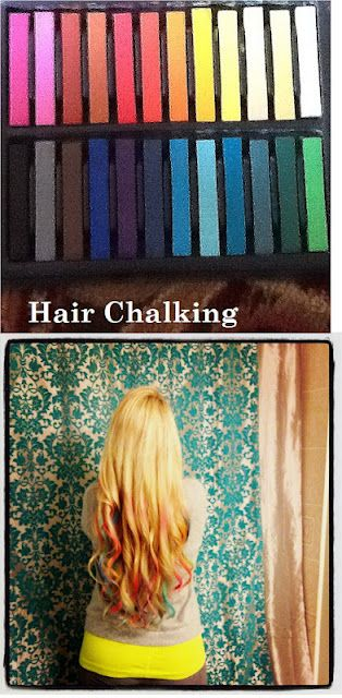 Hair Chalking!!   Last 1 or 2 Days   Only $5 to DIY