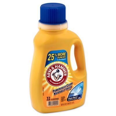 Arm And Hammer 50 Oz Liquid Laundry Detergent In Clean Burst
