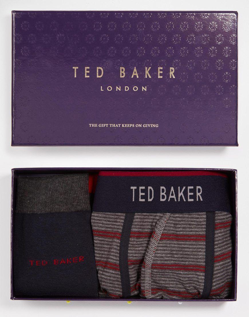 f6dd298c5e321 Ted+Baker+Trunks+ +Socks+Gift+Set