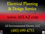 Scottsdale Electrical Company, All Environmental Electric, LLC is available for your electrical repair or service!      	       	Call Today...