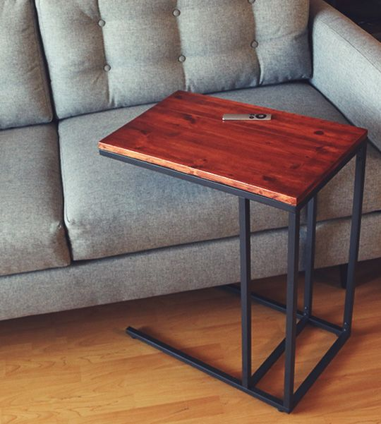 Make This Mid Century Modern Side Table For Less Than 56 Diy