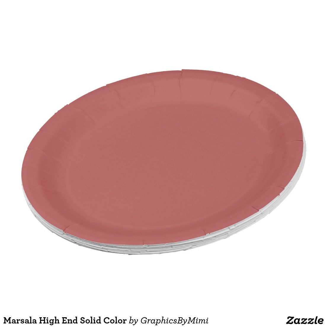 Shop Marsala High End Solid Color Paper Plate created by GraphicsByMimi.  sc 1 st  Pinterest & Marsala High End Solid Color 9 Inch Paper Plate | Evau0027s Baby Shower ...