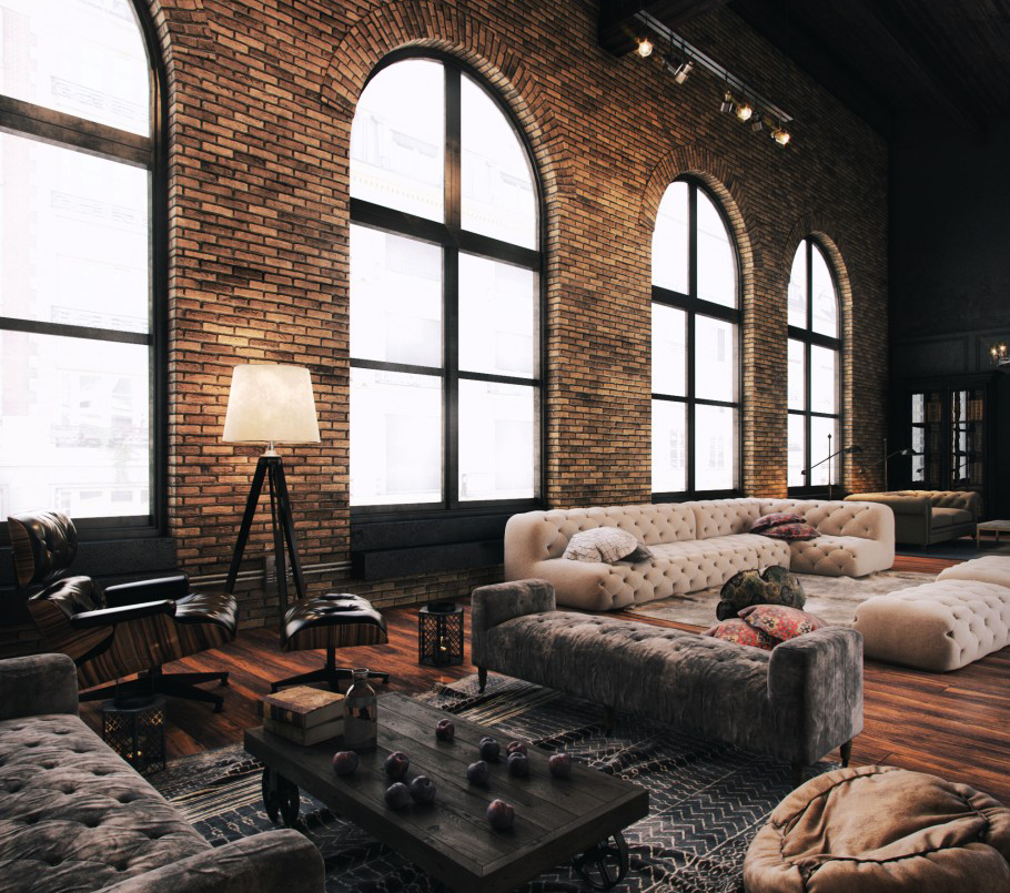 5 Ways To Recreate The New York Loft Aesthetic In Your Home