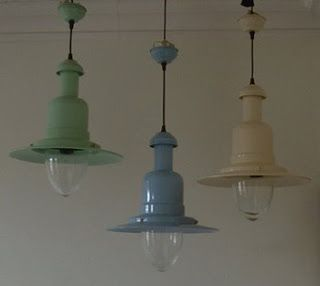 Fisherman Pendant Lights Above Table