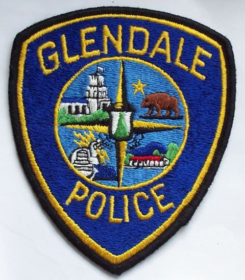 Glendale Pd Calif Police Patches Police Badge Police