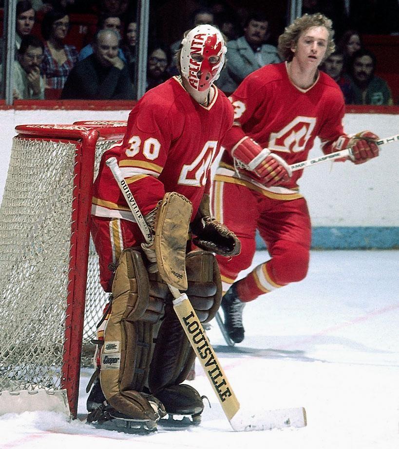 Dan Bouchard, Atlanta Flames. The Flames joined the NHL