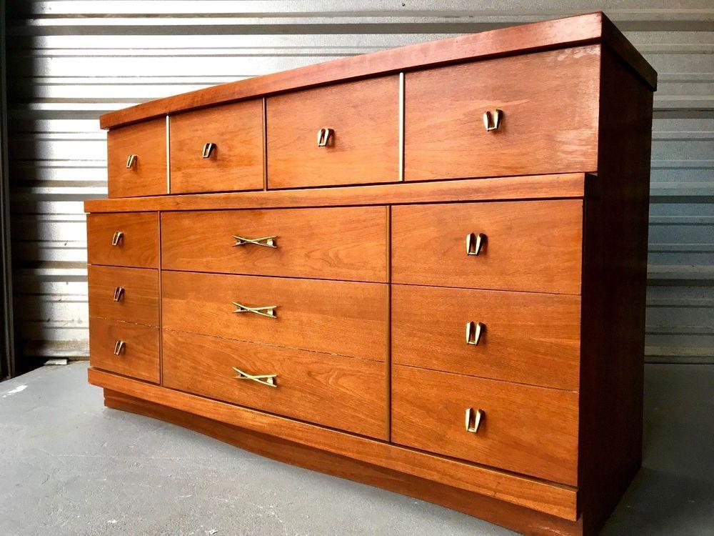 Best Bassett Furniture Mid Century Modern Six Drawer Dresser 400 x 300
