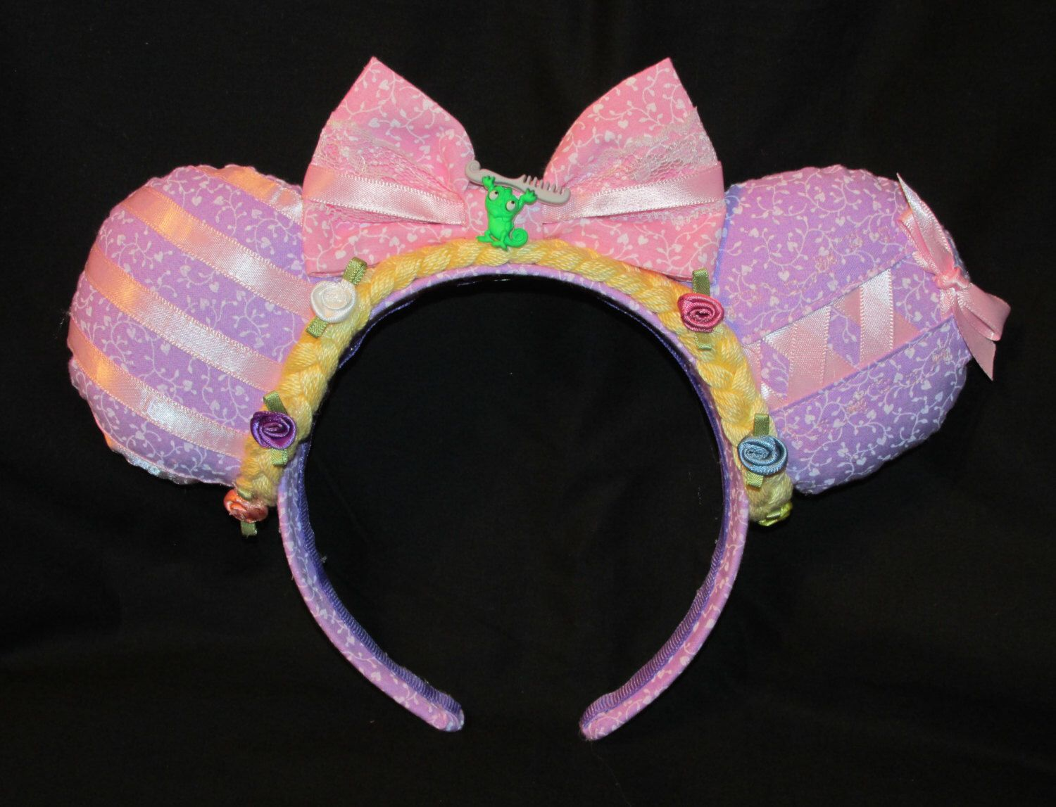 Custom Character Mouse Ears by Yodelin' Cowgirl http://yodelincowgirl.storenvy.com/products/12326840-custom-character-mouse-ears