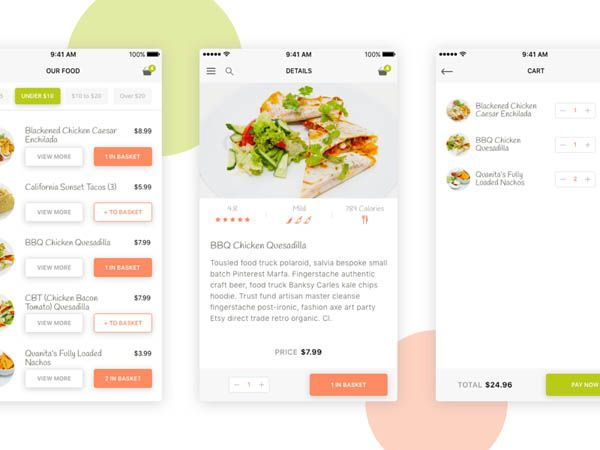 40 food app ui design to inspire you mobile ux food 40 food app ui design to inspire you forumfinder Images