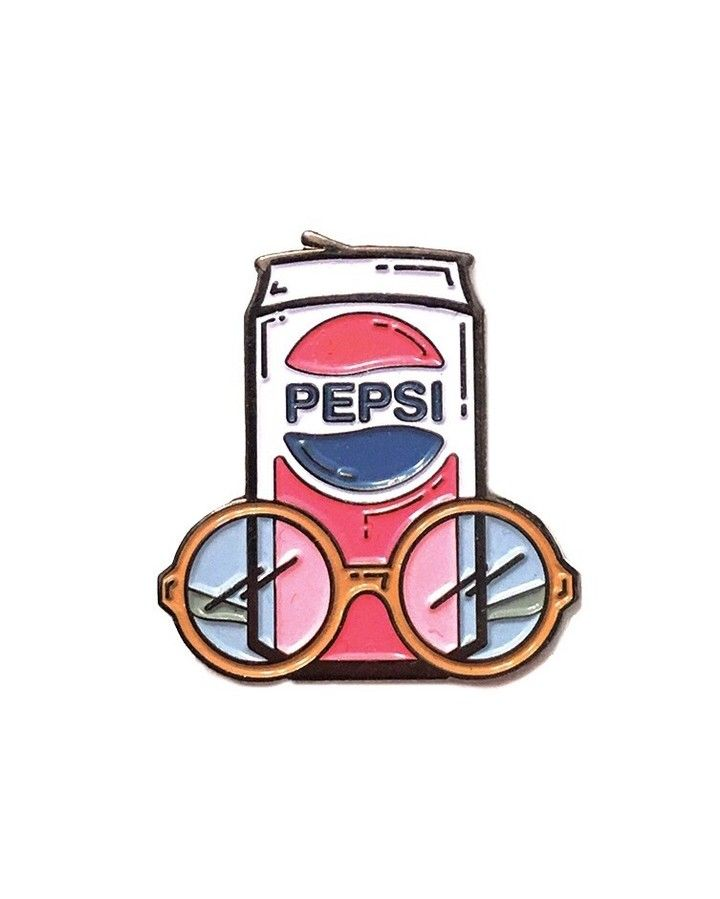 9817c4bc Fuller Pepsi pin from @zupovitzdesignco It's what the holidays are all  about! Buy it through their link in bio!
