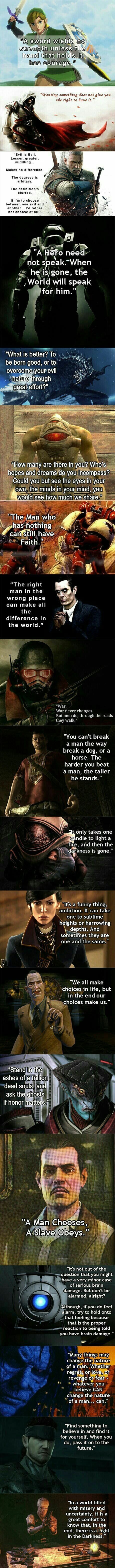 Quotes From Video Games Video Game Quotes Game Quotes Some Good Quotes