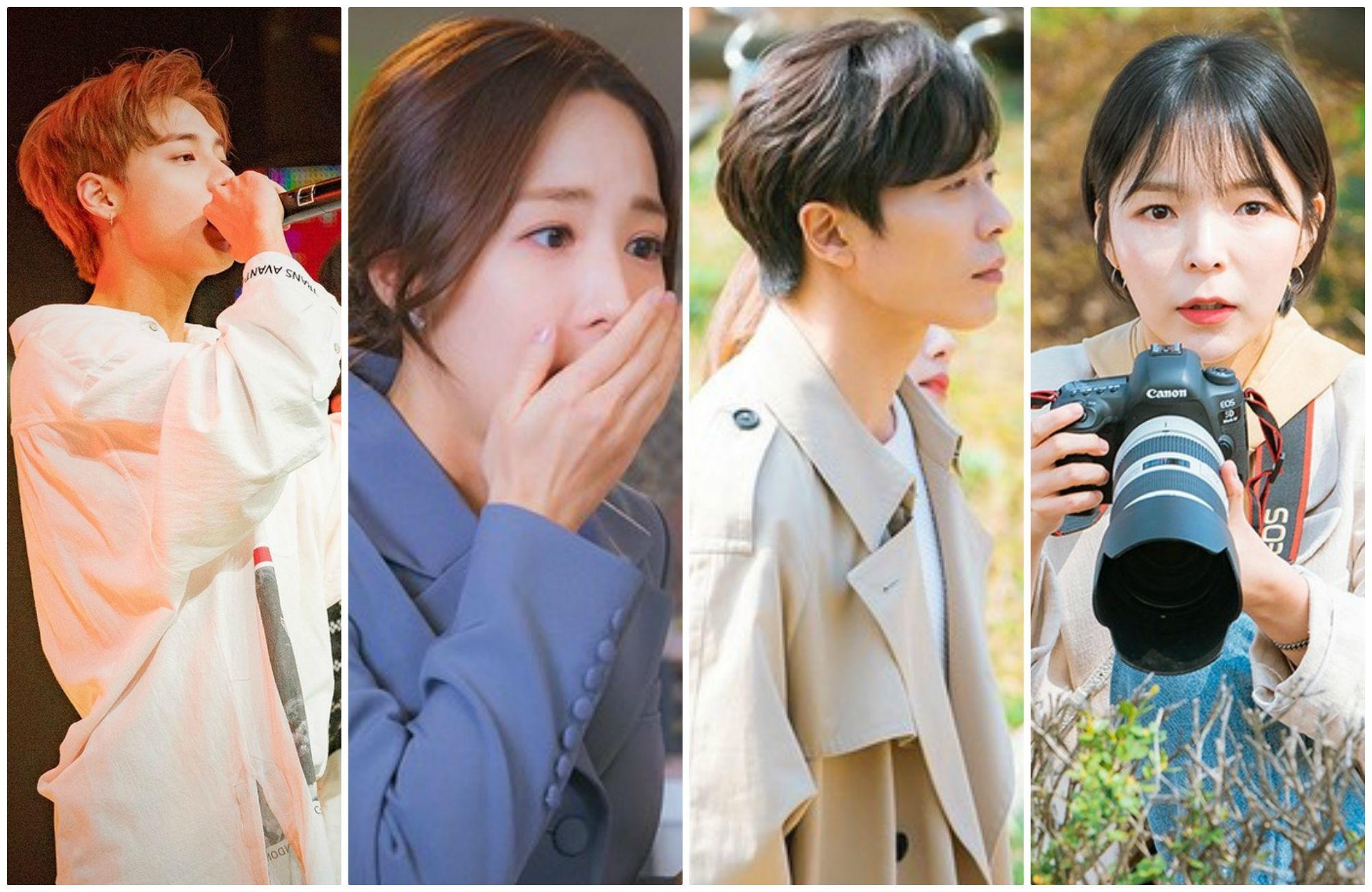 tvN has updated new photos of Kim Jae Wook, Park Min Young, ONE and Park Jin Joo in 'Her Private Life'