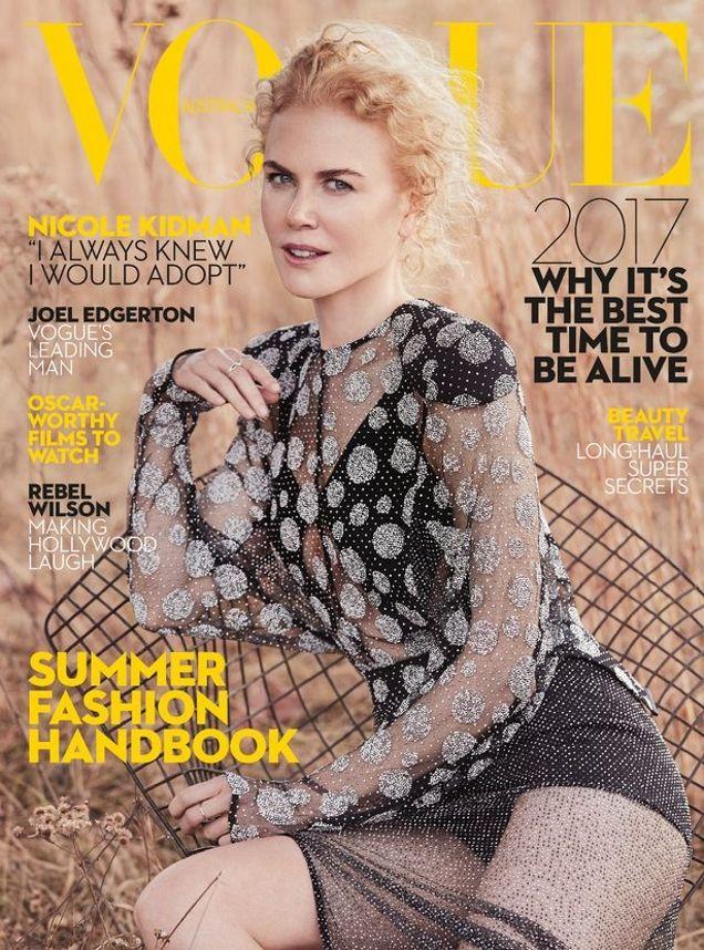 Vogue Australia January 2017