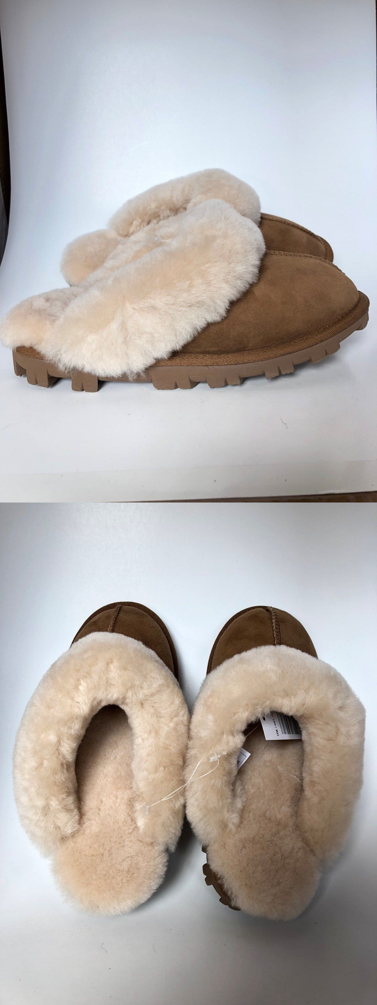 50abe5cce0c Slippers 11632: New Kirkland Signature Ladies Shearling Slipper ...