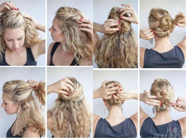 Frisuren tutorial hochsteckfrisur
