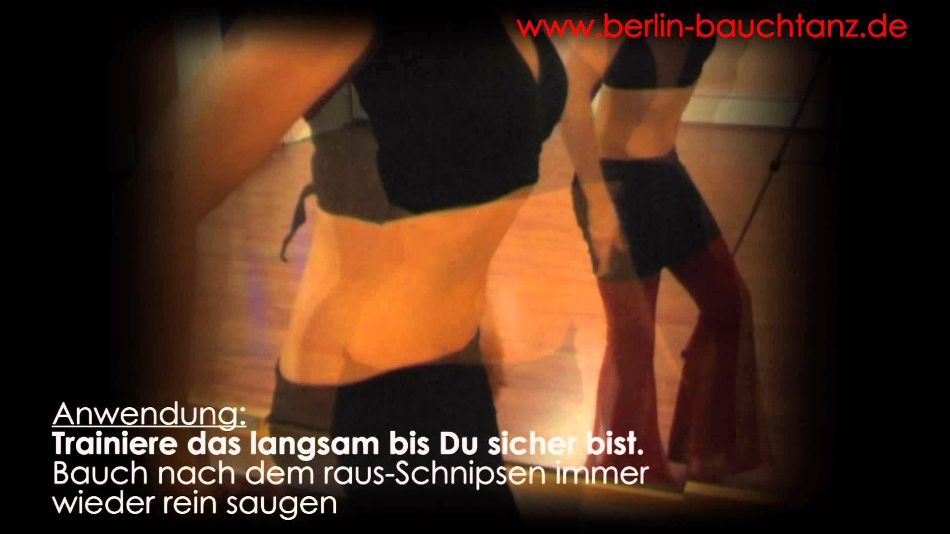 Bauchtanz lernen Bauchflattern Zwerchfellshimmy mitmach Übungsvideo Bauc...