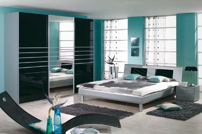 1000 images about ides chambre on pinterest - Chambre Turquoise Et Marron