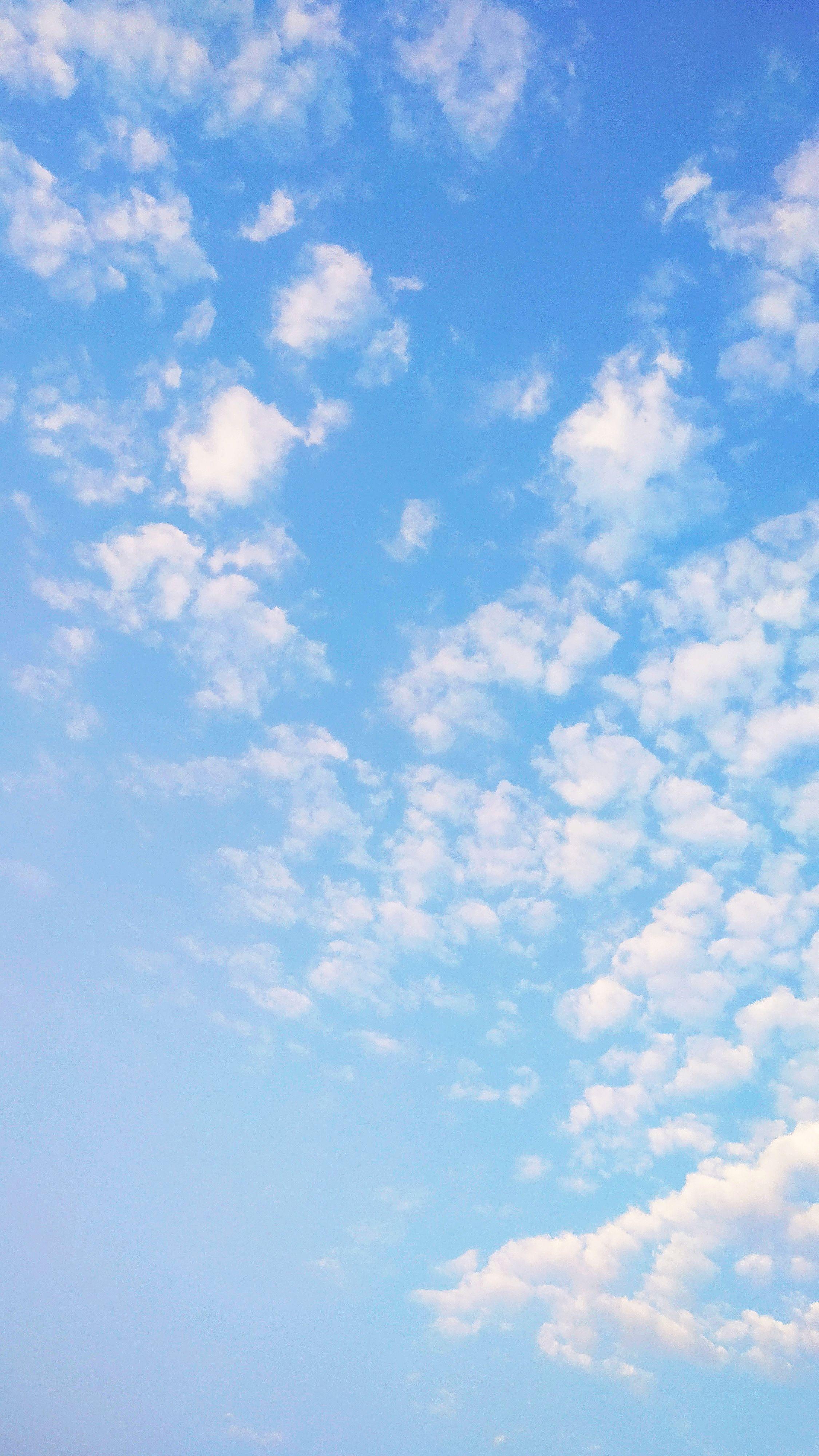 Blue Sky Clean Sky Sky Blue Sky Hd Pertahanan