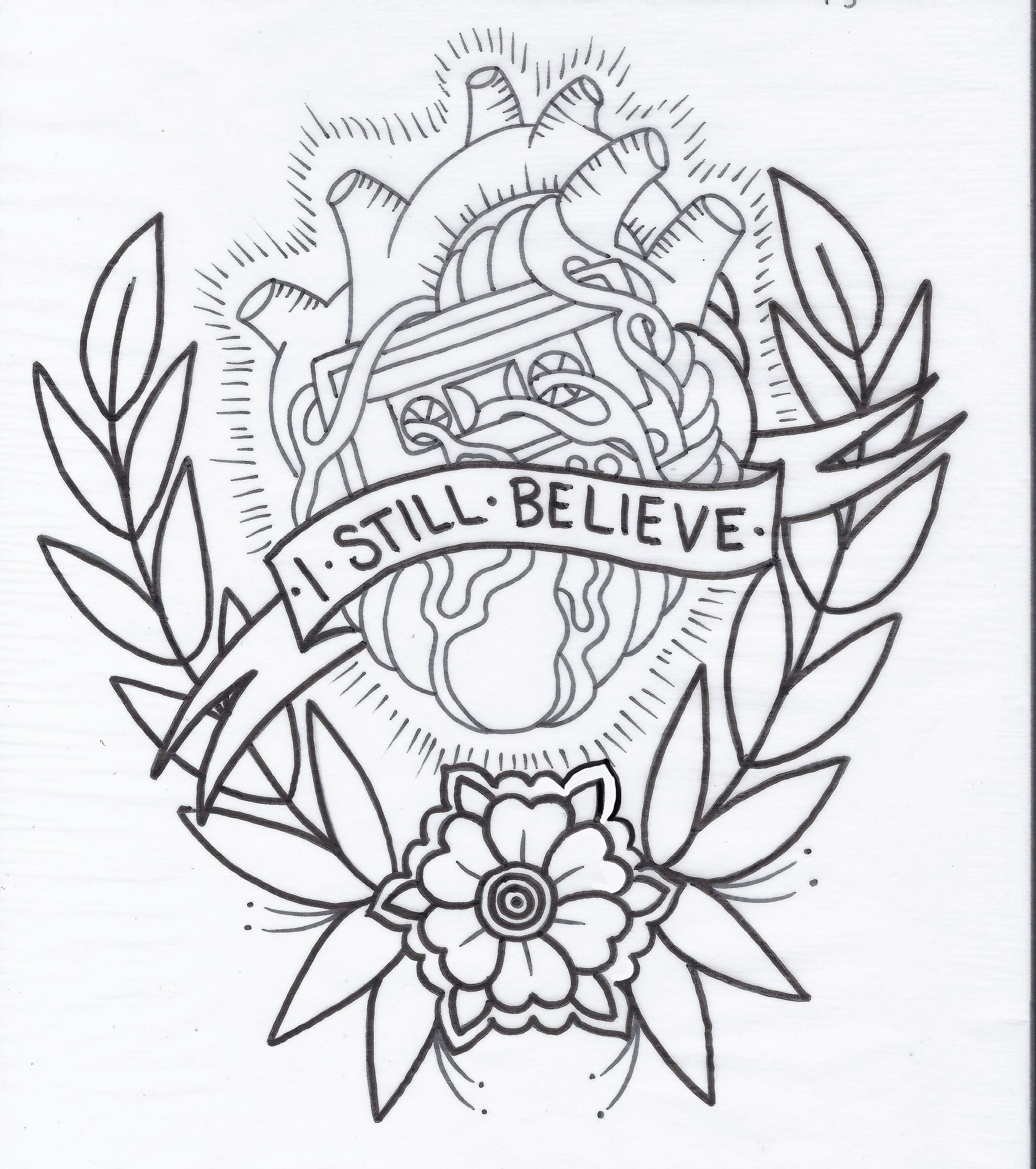 My New Tattoo Design Deisgn By Heather Law Coming In