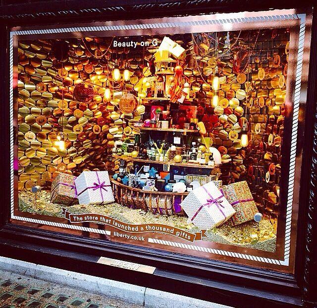 Liberty Christmas window 2014