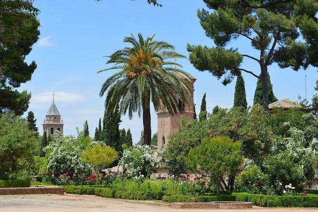 The Alhambra Gardens, Granada